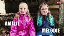 Laschar ir video «Amélie e Mélodie»