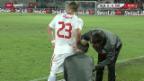 Video «Fussball: Shaqiri fällt länger aus» abspielen