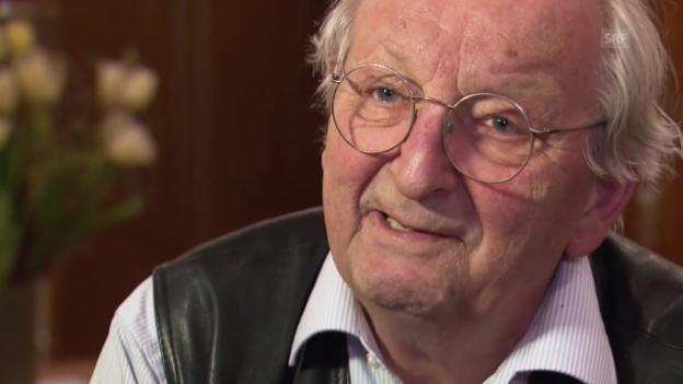 Video «Peter Bichsel, was war Bundesrat Willi Ritschard für Sie?» abspielen