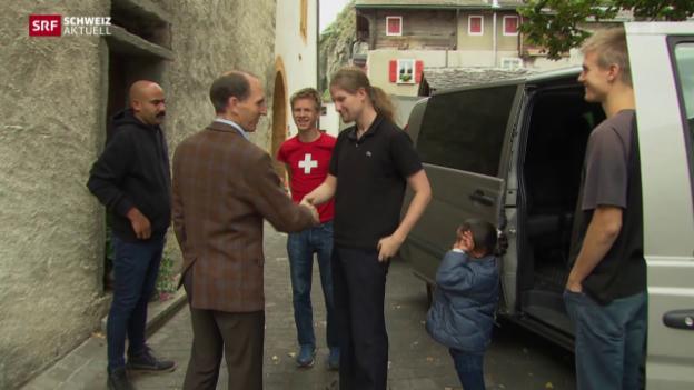 Video «Flüchtlinge im Pfarrhaus» abspielen