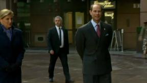 Video «Geburtstag: Prinz Edward wird 50» abspielen