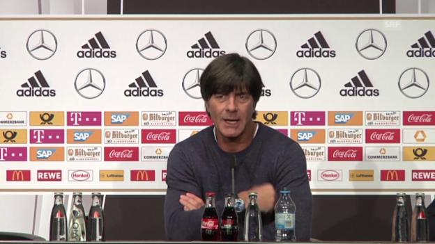 Video «DFB-Trainer Joachim Löw über die Niederlage gegen England» abspielen