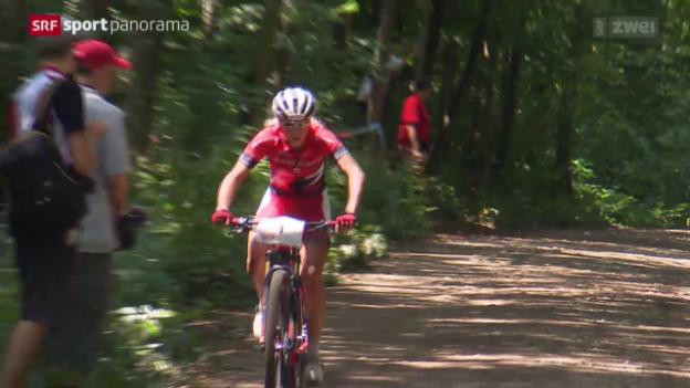 Video «Mountainbike: SM in Langendorf» abspielen