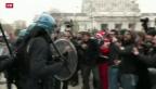 Video «Streik in über 50 italienischen Städten» abspielen