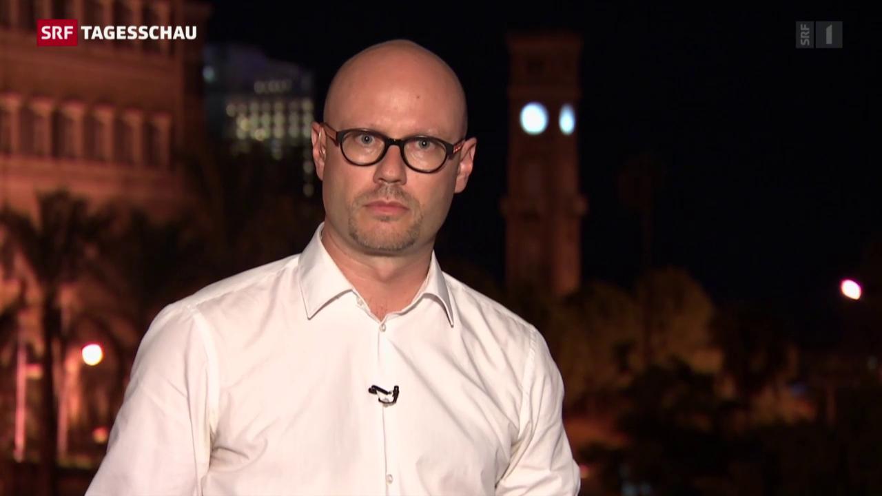 SRF-Korrespondent Pascal Weber zur Lage in Syrien