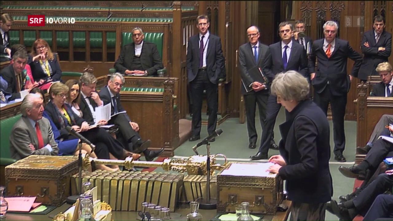 Unterhaus steht hinter dem Brexit