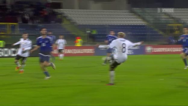 Video «Deutschland erteilt San Marino eine Abfuhr» abspielen