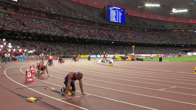 Video «Leichtathletik: WM Peking, Halbfinal Hussein» abspielen