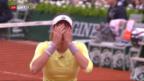 Video «Muguruza gewinnt French Open» abspielen