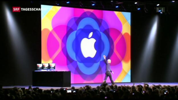 Video «Apple will ins Fahrdienst-Geschäft» abspielen