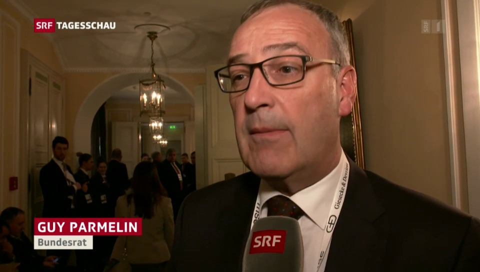 Verteidigungsminister Guy Parmelin nimmt Stellung zum Vorfall