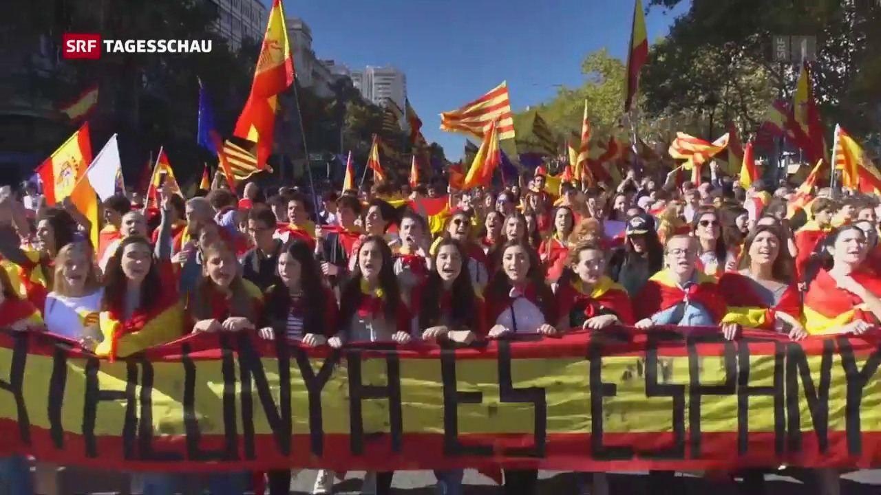 Marsch für die Einheit Spaniens