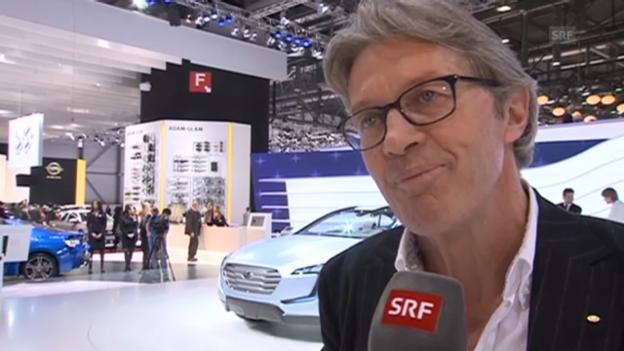 Video «Bernhard Russi rettet Geisterfahrer» abspielen