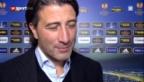 Video «EL: Basel-Trainer Yakin zum Spiel gegen Videoton» abspielen