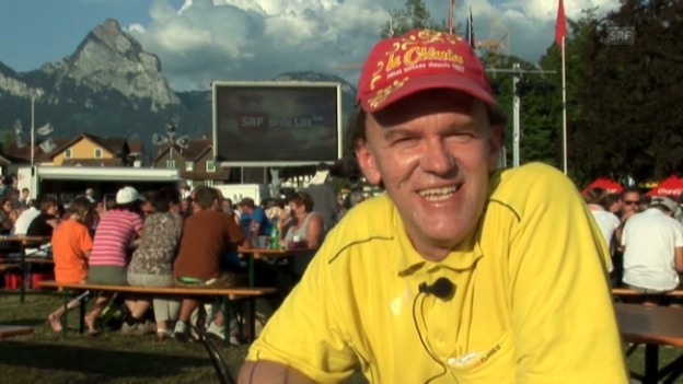 Video ««SRF bi de Lüt – Live»: Ivo Gehrig, TV-Junkie» abspielen