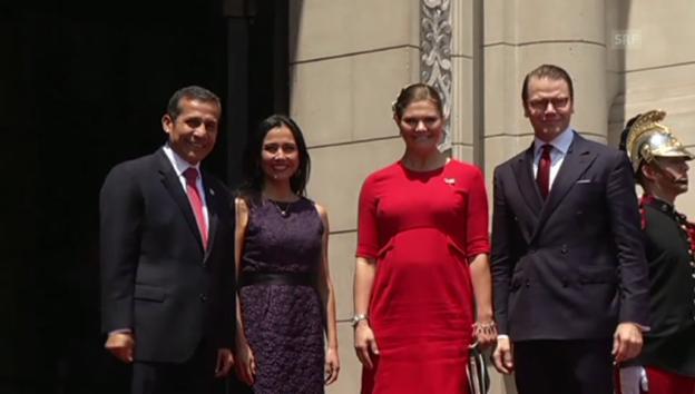 Video «Kronprinzessin Victoria: Schwanger auf Staatsbesuch» abspielen