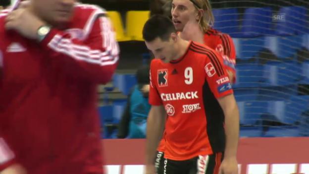 Video «Handball: Kadetten verlieren in der Ukraine» abspielen