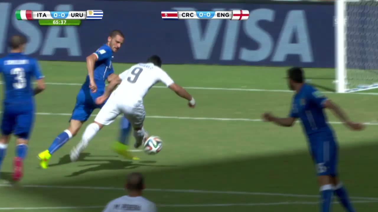 FIFA WM 2014: Italien - Uruguay: Die Live-Highlights