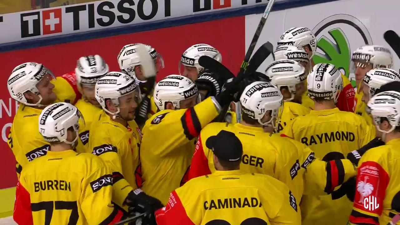 Der SC Bern wirft den deutschen Meister aus der Champions Hockey League