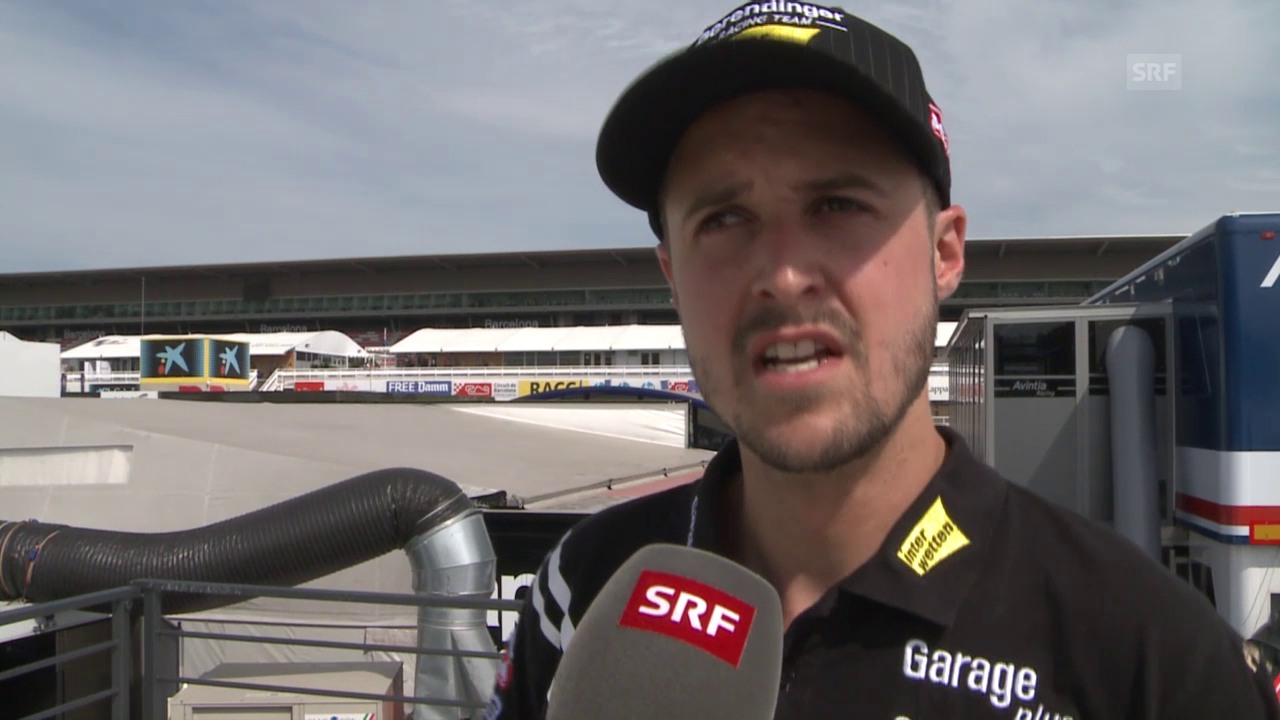 Motorrad: GP Katalonien, Moto 2, Tom Lüthi nach dem Qualifying