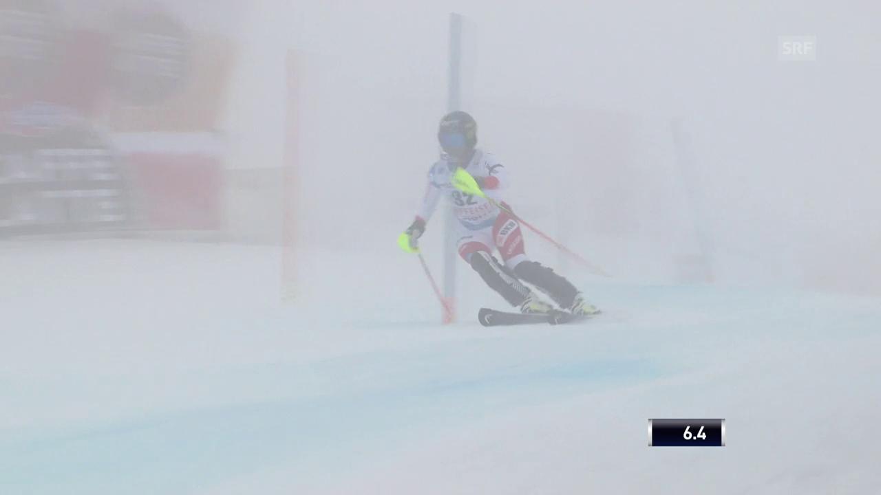 Lara Guts Kombi-Slalom