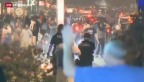 Video «Neue Ausschreitungen in US-Kleinstadt in Missouri» abspielen