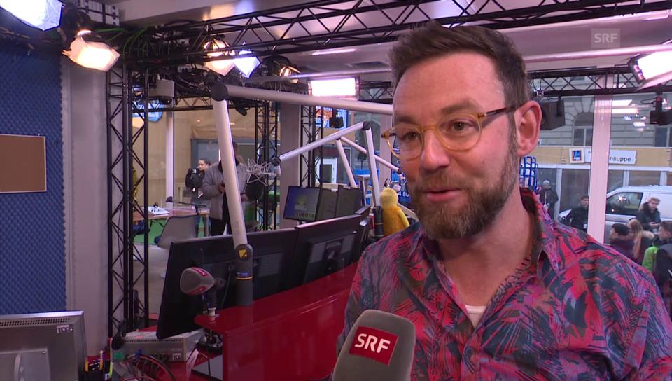 Nik Hartmann über seinen Einsatz bei «JRZ»