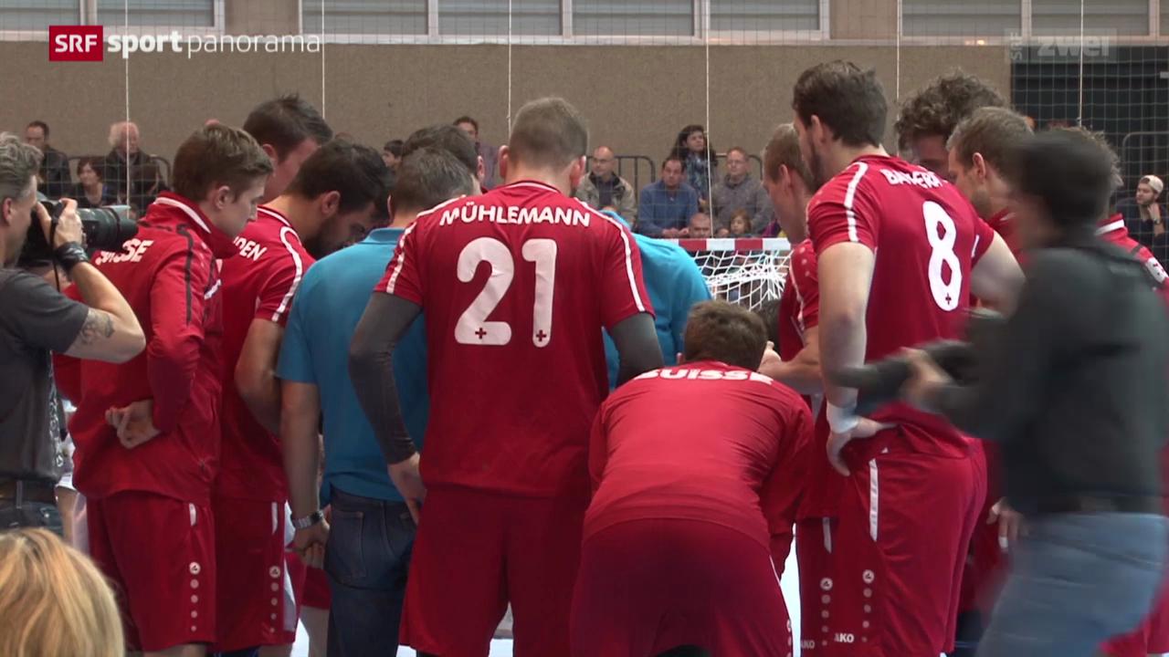Handball: Yellow Cup in Winterthur, Schweiz - Tunesien