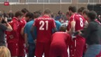Video «Handball: Yellow Cup in Winterthur, Schweiz - Tunesien» abspielen