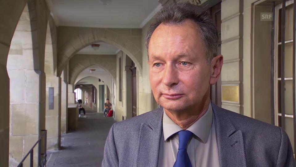 Zur Auswertung: FDP-Präsident Müller