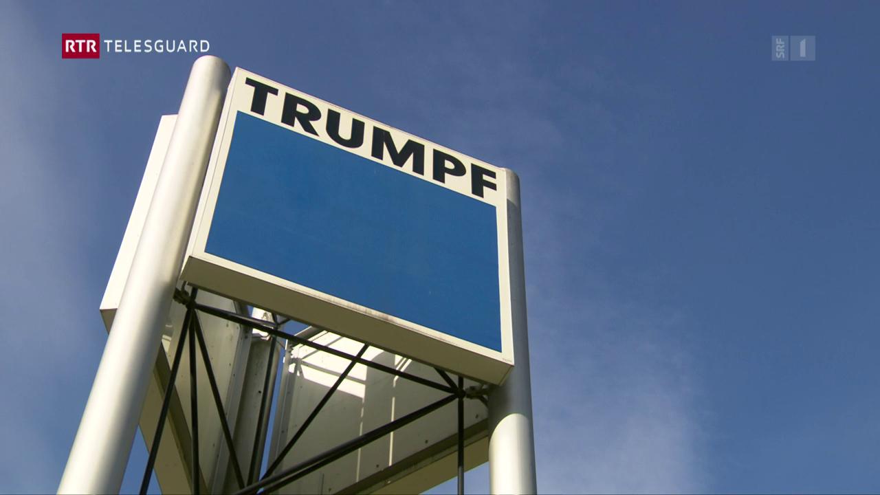 La firma Trumpf rinforza filiala a Grüsch