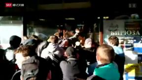 Video «Unruhen in Moskau» abspielen