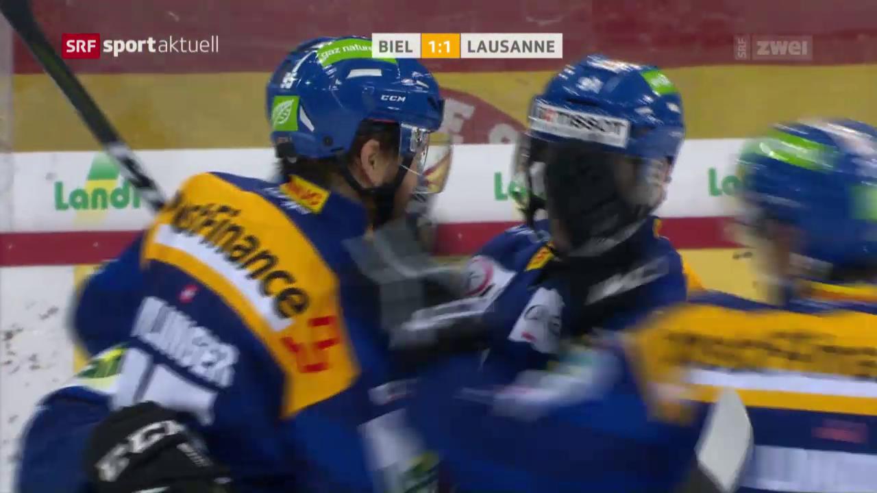 Biels Serie siegt auch gegen Lausanne