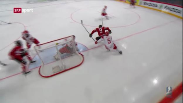 Video «Spielbericht Kanada - Dänemark» abspielen