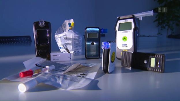 Video «Alkohol-Messgeräte im Test: Ernüchternde Resultate» abspielen