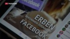 Video «Facebook-Seite von Verstorbenen als Streitpunkt» abspielen