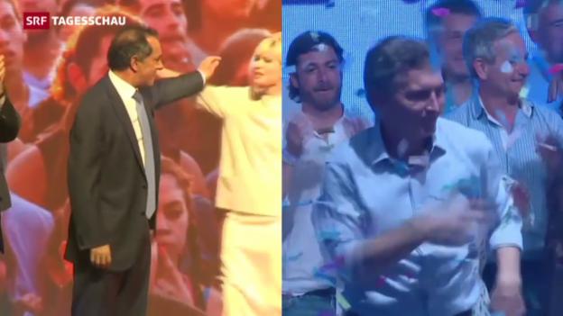 Video «Stichwahl in Argentinien» abspielen