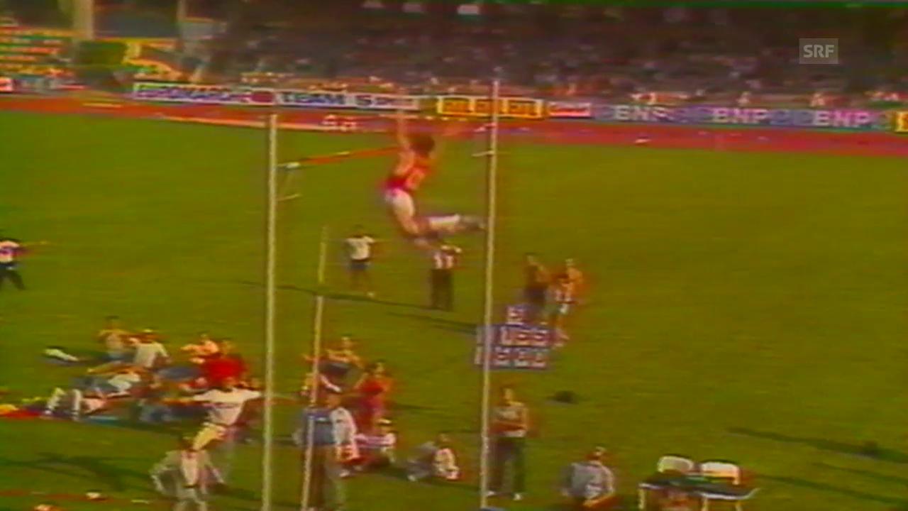LL: Stabhochsprung, WR Bubka, 1985