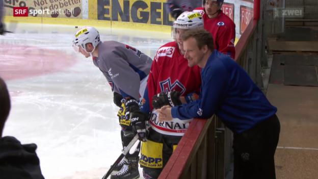 Video «Eishockey: Biel vor dem Showdonw gegen den ZSC» abspielen