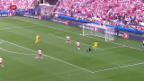 Video «Resultate Fussball EM: Der Gegner der Schweiz steht fest» abspielen