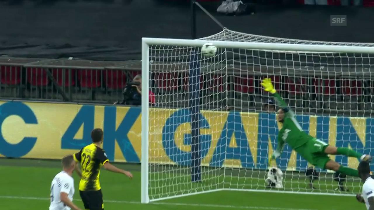 Jarmolenkos herrlicher Treffer zum 1:1