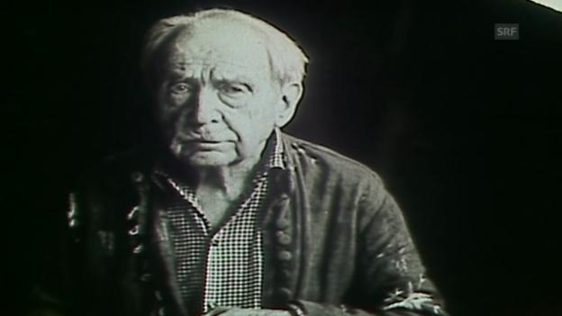 Video «Selbstdarstellung von Arnold Kübler» abspielen
