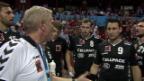 Video «Kadetten verlieren gegen Veszprem» abspielen