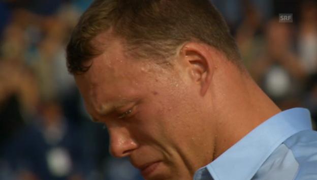 Video «Matthias Sempach über seine Tränen» abspielen