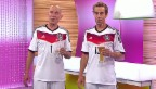 Video «Oropax im «glanz & gloria»-Studio» abspielen