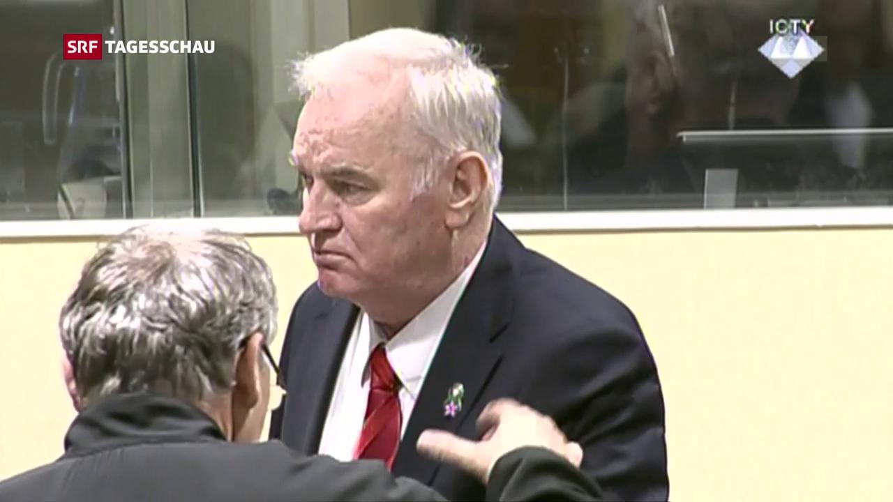 Uno-Tribunal verurteilt Mladic