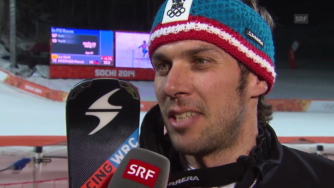 Ski: Interview mit Mario Matt (sotschi direkt, 22.02.2014)