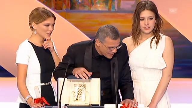 Cannes: Überreichung der Goldenen Palme (unkomm.)