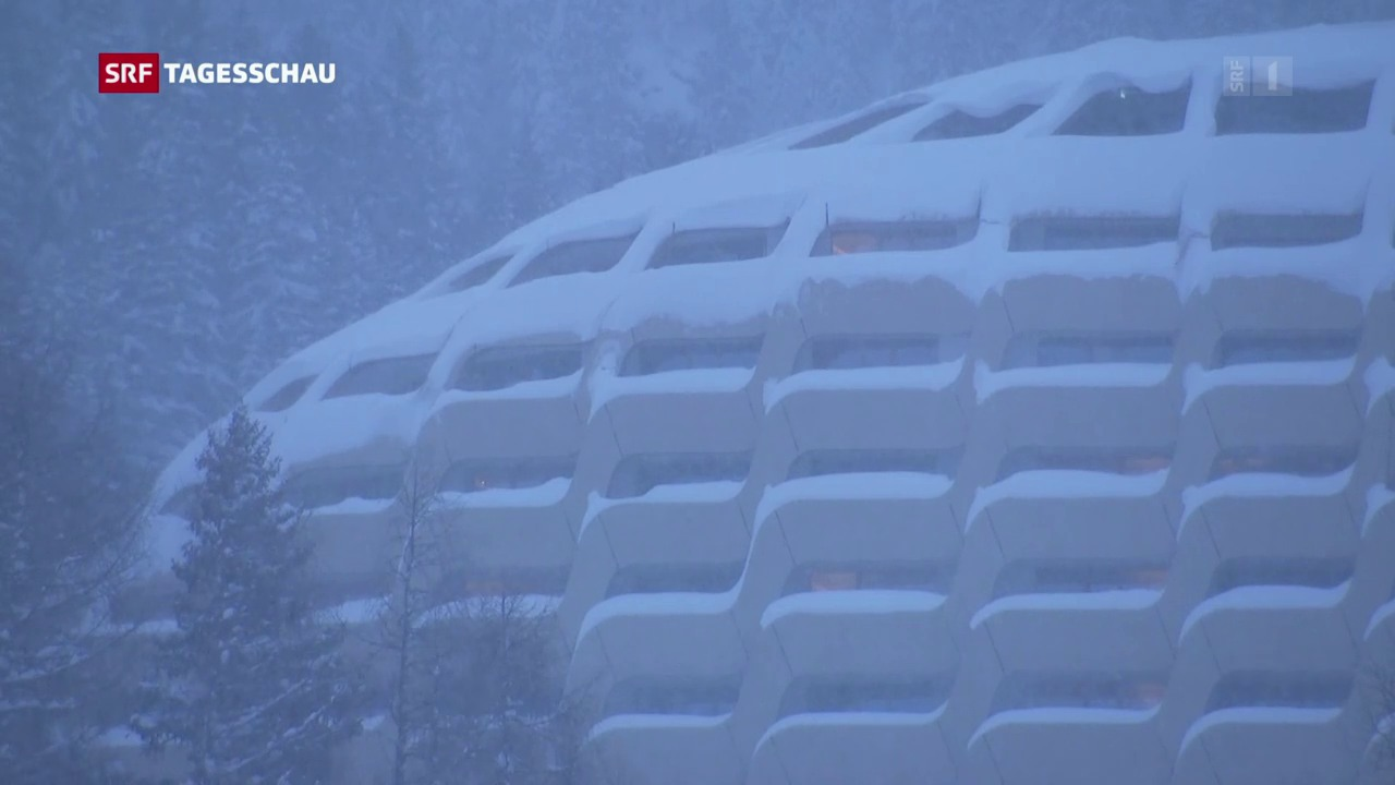 Werweissen über den Besuch in Davos