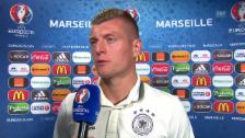 Video «Kroos: «Das wäre nicht schlau von mir»» abspielen